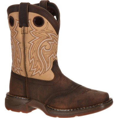 LIL' DURANGO Boys' Brown Saddle Western Boot