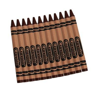 Crayola Bulk Crayons Brown 12/Box 52-0836-007