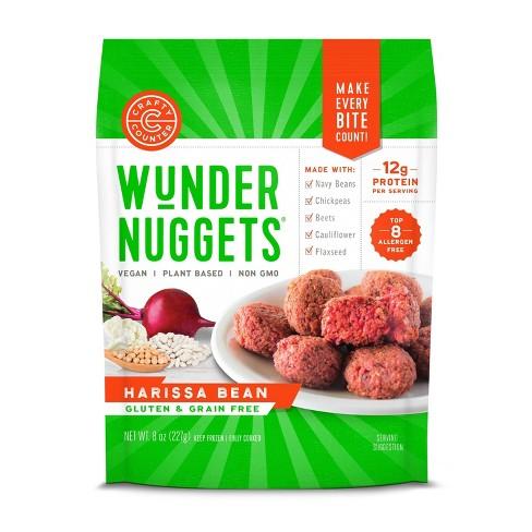 Crafty Counter Gluten Free Frozen Harissa Bean Wunder Nuggets - 8oz - image 1 of 4