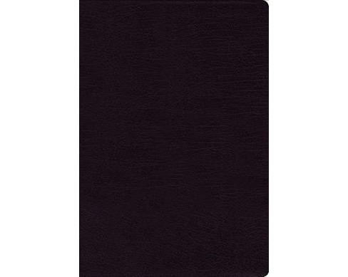 Holy Bible : New International Version, Black, Bonded Leather, Thinline, Giant Print, Red Letter - image 1 of 1