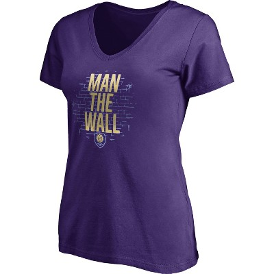 MLS Orlando City SC Women's Short Sleeve V-Neck T-Shirt