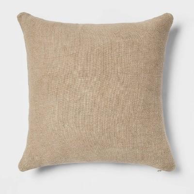 Linen Square Throw Pillow Sage - Threshold™