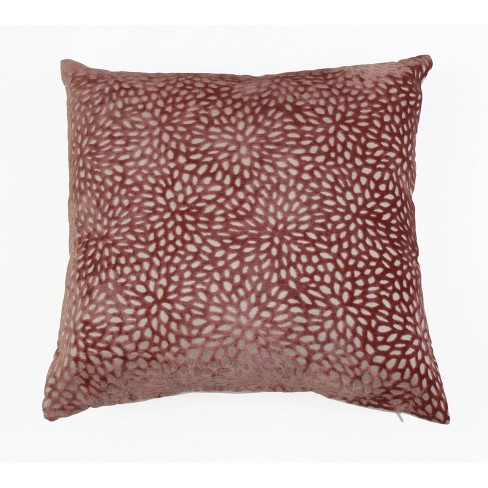 """20""""x20"""" Evie Cut Velvet Pillow - Decor Therapy - image 1 of 4"""