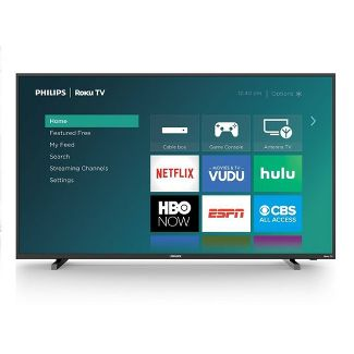 "Philips 50"" 4K UHD Roku TV with HDR 10 (50PFL4864)"