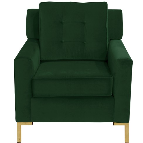 Parkview Chair with Y Metal Legs - Skyline Furniture - image 1 of 4