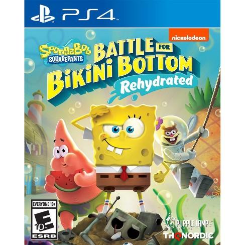 Spongebob Squarepants: Battle for Bikini Bottom Rehydrated - PlayStation 4 - image 1 of 4