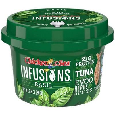 Chicken of the Sea Infusions Basil Tuna - 2.8oz