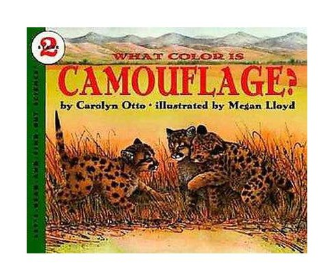 What Color Is Camouflage? (Paperback) (Carolyn Otto) - image 1 of 1