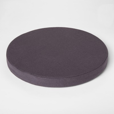 Round Chair Pad Gray - Project 62™