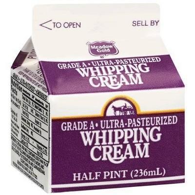 Meadow Gold Heavy Whipping Cream - 8 fl oz