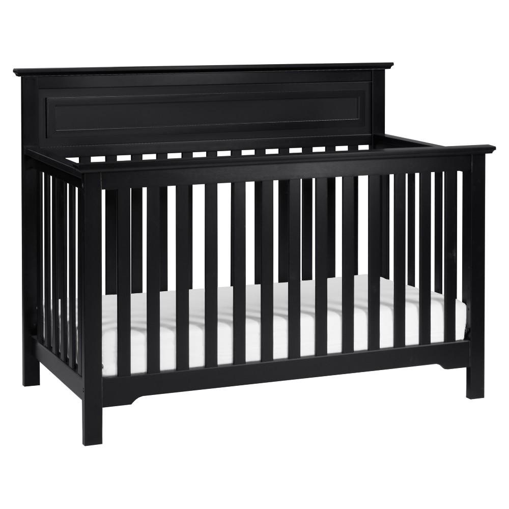 Image of DaVinci Autumn 4-in-1 Convertible Crib - Black