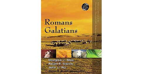 Romans, Galatians : Black and White Edition (Paperback) (Douglas J. Moo) - image 1 of 1
