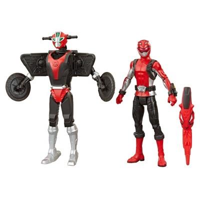 Power Rangers Beast Morphers Red Ranger and Morphin Cruise Beastbot