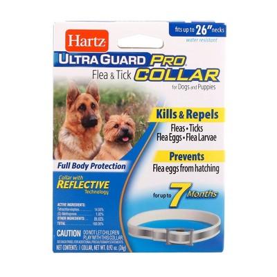 "Hartz Ultra Guard Flea & Tick Collar Pet Insect Prevention - 26"""