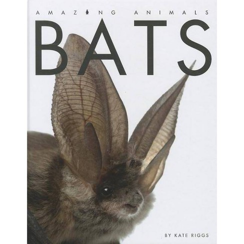 Bats - (Amazing Animals (Creative Education Hardcover)) by  Kate Riggs (Hardcover) - image 1 of 1