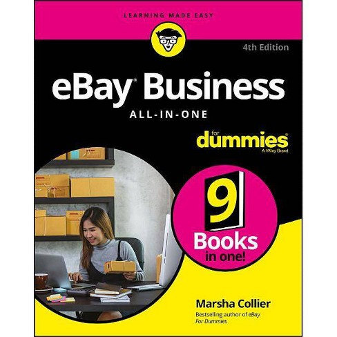 Ebay Business All In One For Dummies 4 Edition By Marsha Collier Paperback Target