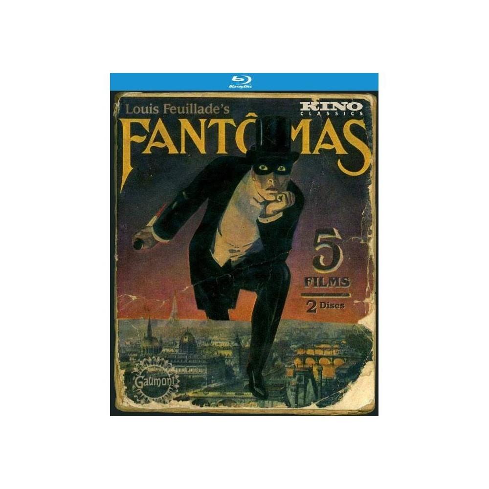 Fantomas The Complete Saga Blu Ray