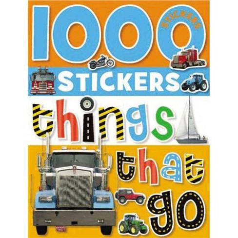 1000 Stickers: Things That Go - by  Make Believe Ideas Ltd (Mixed media product) - image 1 of 1