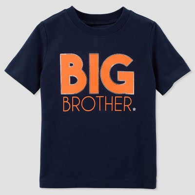 Toddler Boys' Brother Short sleeve T - Shirt - Just One You® made by carter's Blue 2T