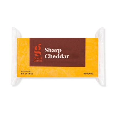 Sharp Cheddar Cheese - 32oz - Good & Gather™