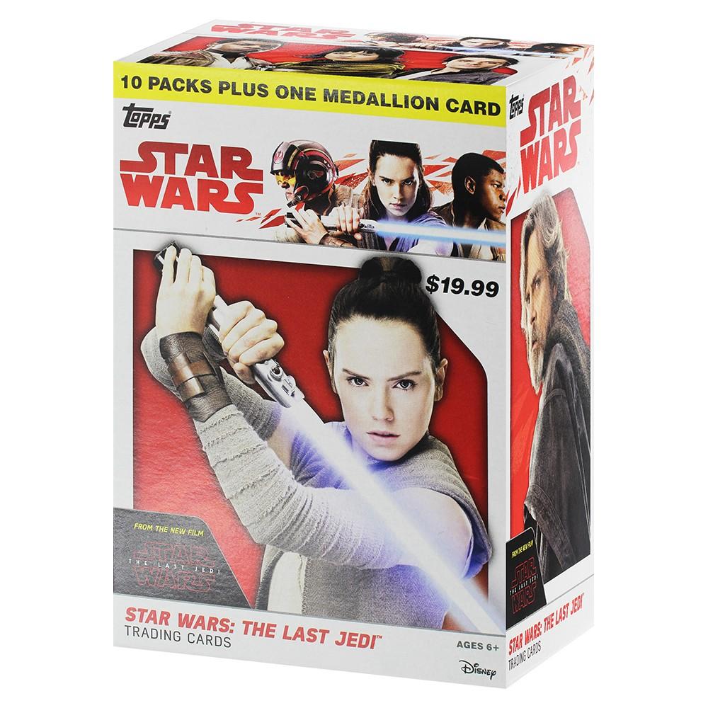 Star Wars: The Last Jedi Series 1 Full Box Trading Cards