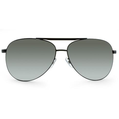 8d8ba87d7db Men s Aviator Sunglasses - Matte Black   Target