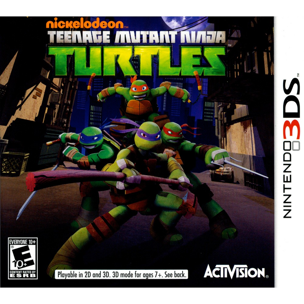 Teenage Mutant Ninja Turtle Pre-Owned Nintendo 3DS