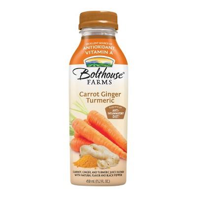 Bolthouse Farms Carrot Ginger Turmeric Juice - 15.2 fl oz