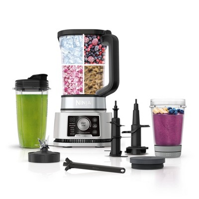 Ninja Foodi Power Pitcher System 4-in-1 Blender Smoothie Bowl Maker and Personal Blender with Exclusive Preset