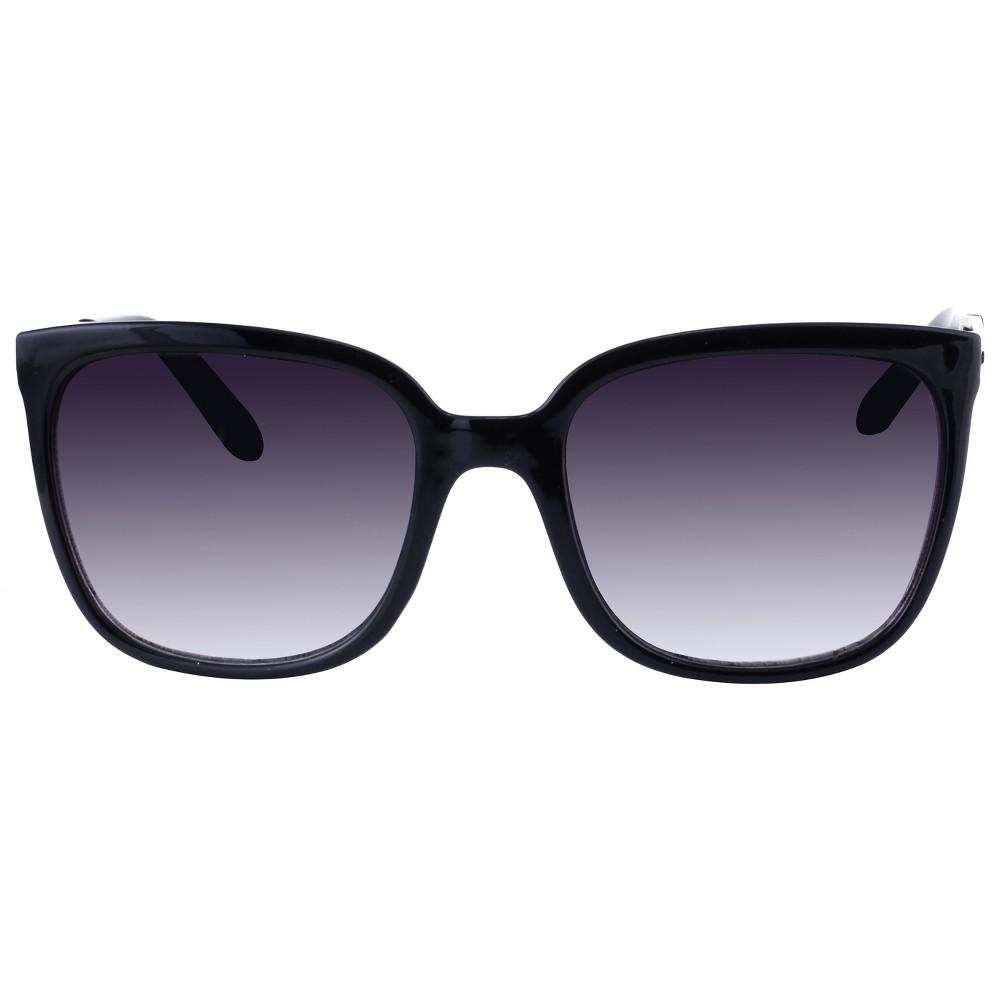 Women's Square Sunglasses - A New Day Black
