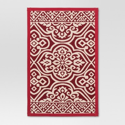 34 x20  Woven Floor Mat Red - Threshold™