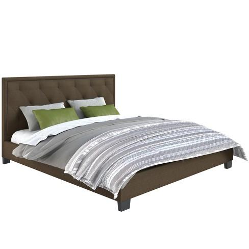 70d5ebc01454 King Adult Bed Brown - CorLiving : Target