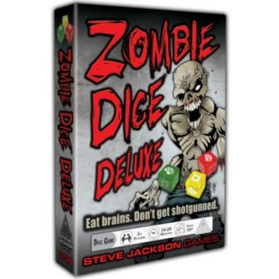 Zombie Dice Deluxe (2020 Edition) Board Game