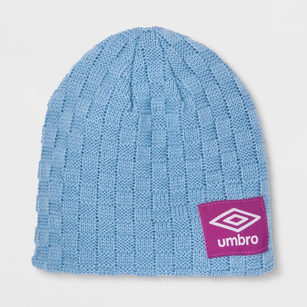Umbro Heritage Youth Knit Skully Hat - Blue, Girl's, Light Blue