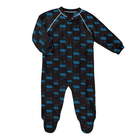 NFL Carolina Panthers Baby Boys' Blanket Sleeper - image 1 of 1