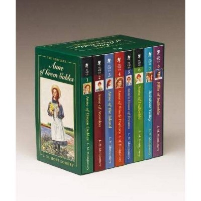 Anne of Green Gables, Complete 8-Book Box Set - by  L M Montgomery (Mixed Media Product)