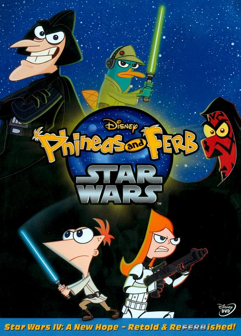 Phineas and Ferb: Star Wars (dvd_video) - image 1 of 1