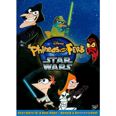 phineas and ferb star wars blu ray
