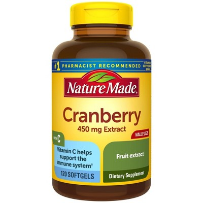 Vitamins & Supplements: Nature Made Cranberry with Vitamin C
