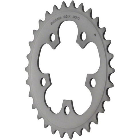 Shimano 105 5703-L 39t 130mm 10-Speed Triple Middle Chainring Black