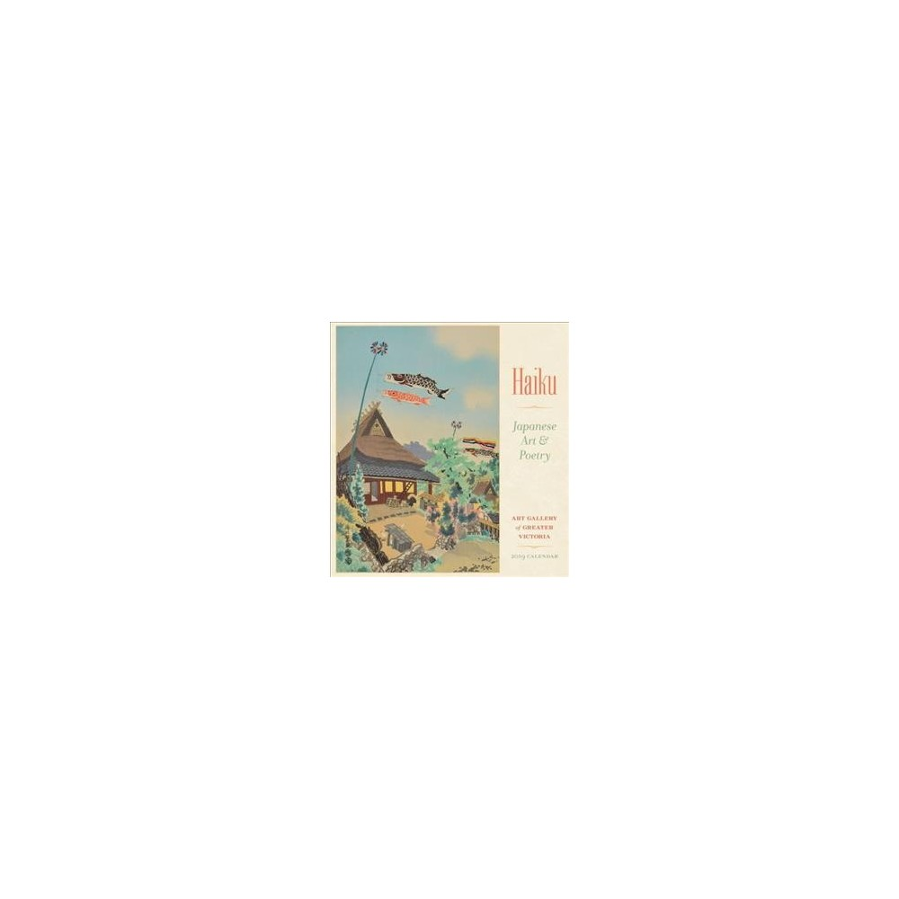 Haiku - Japanese Art & Poetry 2019 Calendar - (Paperback)