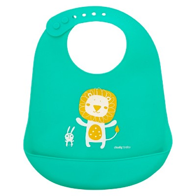 Cheeky® Baby Silicone Bib - Lion -1ct