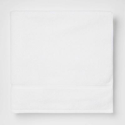 Performance Texture Bath Sheet White - Threshold™
