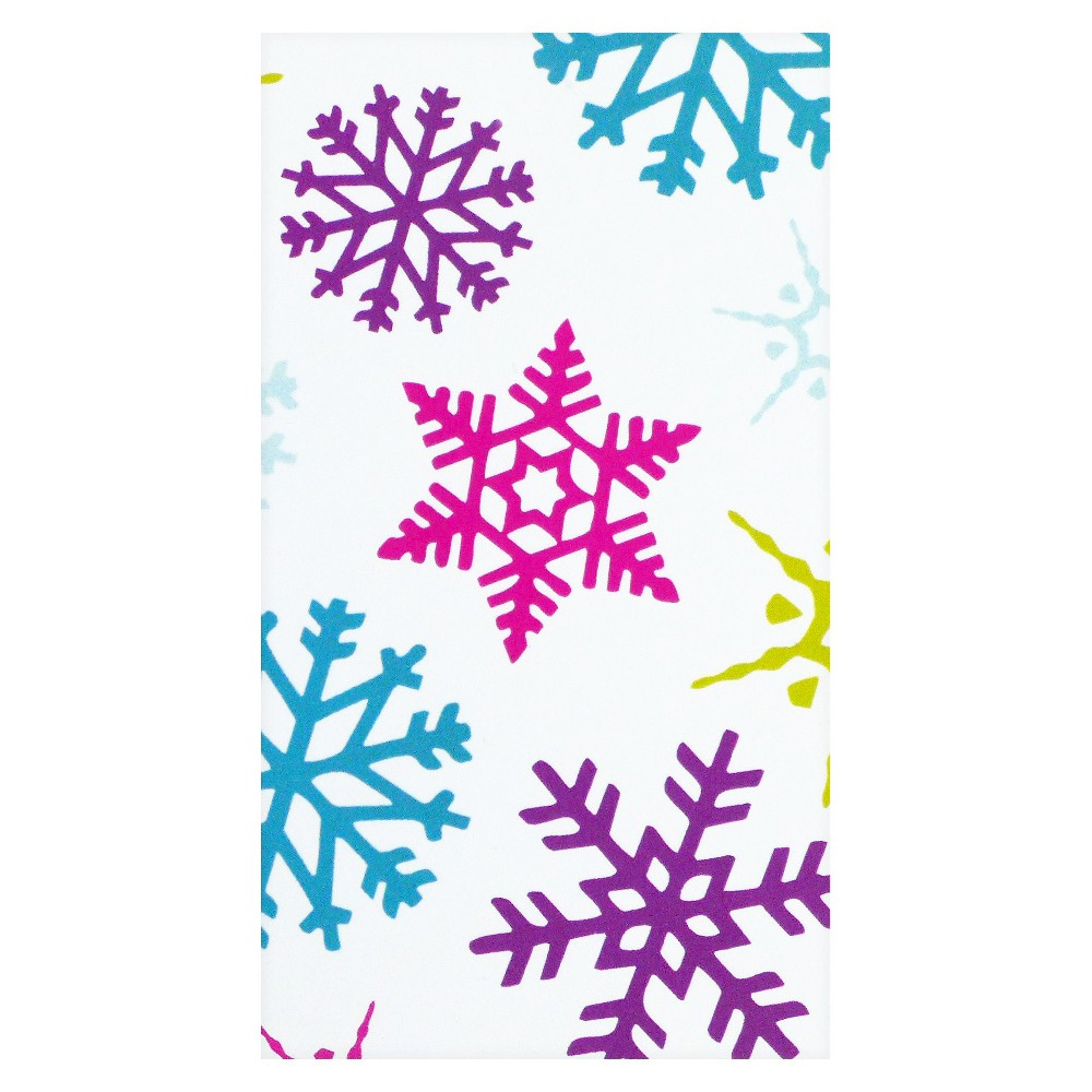 Image of Bright Snowflake Gift Tag
