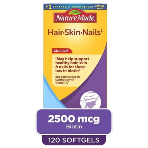 Nature Made Hair/Skin/Nails Liquid Softgels - image 1 of 4