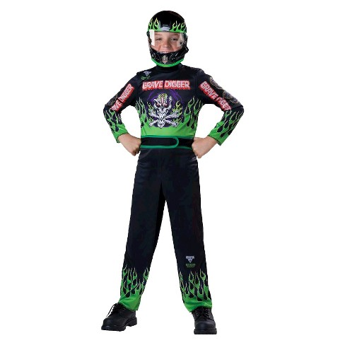 b4ddf8a6 Kids' Monster Jam Grave Digger Costume : Target