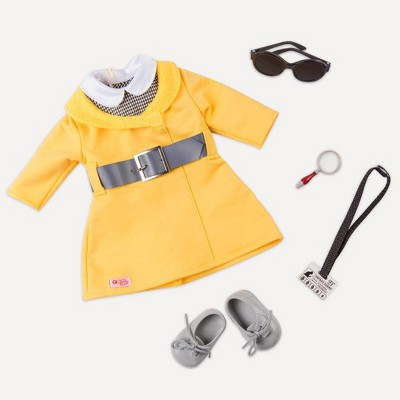 """Our Generation Detective Outfit for 18"""" Dolls - Secret Agent Style"""