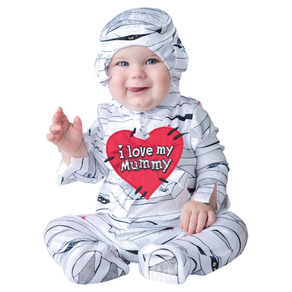 Image of Halloween Toddler I Love My Mummy Costume 12-18 Months, Adult Unisex, Size: 12-18M, MultiColored