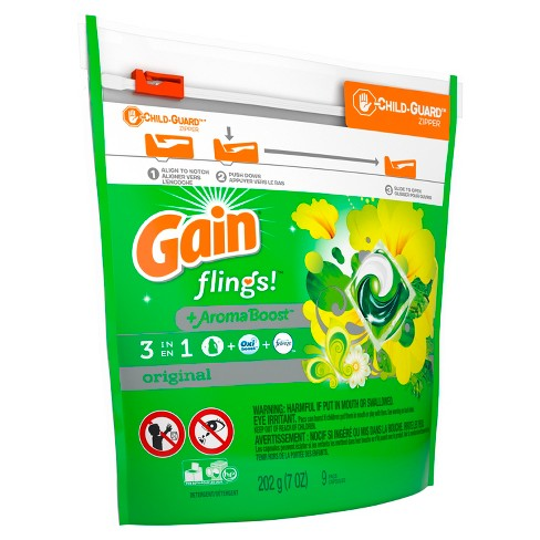 Gain flings! Laundry Detergent Pacs Original - image 1 of 3