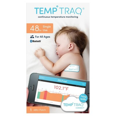 TempTraq 48hr Temperature Monitoring Patch - 1ct